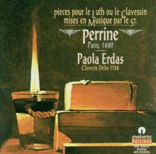 Perrine: Pieces pour le Luth ou le Clavessin, CD