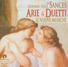 Giovanni Felice Sances (1600-1679): Arien & Duette, CD
