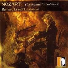 """Wolfgang Amadeus Mozart (1756-1791): Klavierstücke """"Aus dem Notenbuch für Nannerl"""", CD"""