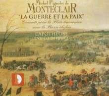 Michel Pignolet de Monteclair (1667-1737): 6 Concerts pour flute, 2 CDs