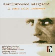 Gian Francesco Malipiero (1882-1974): Dialogi I-III, CD