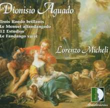 Dionisio Aguado (1784-1849): Werke für Gitarre, CD