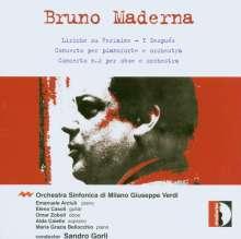 Bruno Maderna (1920-1973): Klavierkonzert, CD