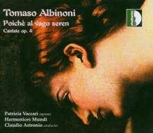 Tomaso Albinoni (1671-1751): 6 Kantaten aus op.4, CD