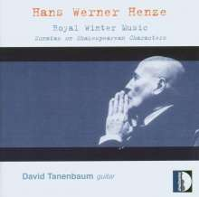 Hans Werner Henze (1926-2012): Royal Winter Music für Gitarre, CD