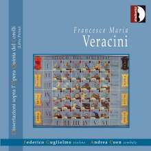 Francesco Maria Veracini (1690-1768): Dissertazioni 1-6 für Violine & Cembalo, CD