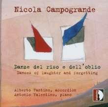 Nicola Campogrande (geb. 1969): Danze del riso e dell' oblio für Akkordeon & Klavier, CD