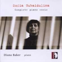 Sofia Gubaidulina (geb. 1931): Klavierwerke, CD
