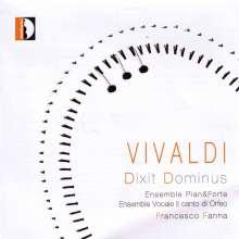 Antonio Vivaldi (1678-1741): Dixit Dominus RV 595 & 807, CD