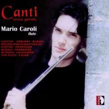 Mario Caroli - Canti senza parole, CD