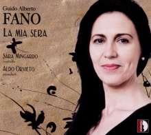 """Guido Alberto Fano (1875-1961): Lieder """"La Mia Sera"""", CD"""