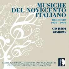 Alfredo Casella (1883-1947): Musiche Del Novecento Italiano (CD-ROM Windows), CD