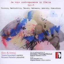 La voce contemporanea in Italia Vol.5, CD