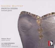 Georg Muffat (1653-1704): Concerti grossi Nr.8,9,11,12, CD