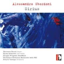 Alessandro Sbordoni (geb. 1948): Sirius für Bayan & Orchester, CD