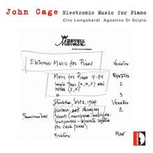 John Cage (1912-1992): Elektronic Music for Piano, CD