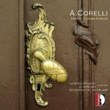 Arcangelo Corelli (1653-1713): Sonate, Ciacona e Folia für Blockflöte & Bc, CD