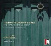 Daccapo - The Bach's Court in Leipzig (Werke für 2 Cembali), CD