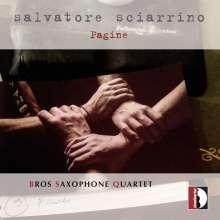 Salvatore Sciarrino (geb. 1947): Pagine für Saxophonquartett, CD