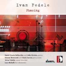 Ivan Fedele (geb. 1953): Phasing für 2 Klaviere & Percussion, CD