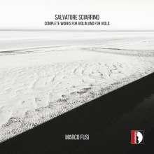 Salvatore Sciarrino (geb. 1947): Sämtliche Werke für Violine & Viola, CD
