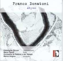 Franco Donatoni (1927-2000): Abyss für Mezzosopran, Flöte & 10 Instrumente, CD