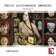 Carlo Alessandro Landini (geb. 1954): Changes für Streichquartett, CD