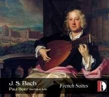 Johann Sebastian Bach (1685-1750): Französische Suiten BWV 812-815 für Laute, CD