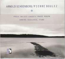 Prague Modern Ensemble - Arnold Schönberg / Pierre Boulez, CD