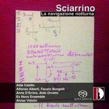 Salvatore Sciarrino (geb. 1947): La navigazione notturna für 4 Klaviere, SACD
