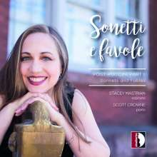 Stacey Mastrian - Sonetti e Favole (Post-Puccini Part I), CD