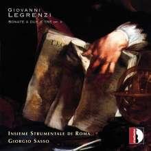 Giovanni Legrenzi (1626-1690): Sonaten a due e tre op.2, CD