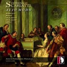 Amaya Fernandez Pozuelo - Domenico Scarlatti: Alio Modo, CD
