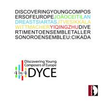 4 by 4 - Discovering Young Composers of Europe, CD