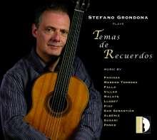Stefano Grondona - Temas De Recuerdos, CD