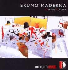 Bruno Maderna (1920-1973): Grande Aulodia für Flöte, Oboe & Orchester, CD