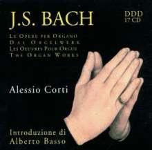 Johann Sebastian Bach (1685-1750): Orgelwerke (Ges.-Aufn.), 17 CDs