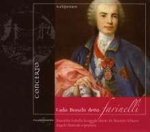 """Carlo """"Farinelli"""" Broschi (1705-1782): Arie per soprano di Farinelli dedicate a Maria Teresa, CD"""