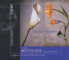 Giovanni Bottesini (1821-1889): Werke für Kontrabaß & Klavier, 2 CDs