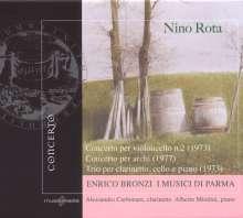Nino Rota (1911-1979): Concerto for Strings, CD