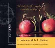 Francesco Giovanni Giuliani (1760-1818): Quartette für Mandoline,Violine,Cello & Laute Nr.2,4,6, CD