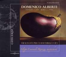 Domenico Alberti (1717-1740): Cembalosonaten op.1 Nr.1-8, CD
