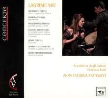 Lagrime Mie, CD