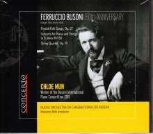 Ferruccio Busoni (1866-1924): Streichquartett Nr.1, CD