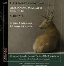 """Alessandro Scarlatti (1660-1725): Serenaden """"Al Fragor di Lieta Tromba"""" & """"Bel Piacere Ch'e la Caccia"""", CD"""