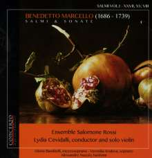 Benedetto Marcello (1686-1739): Salmi & Sonate, CD