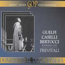 Gaetano Donizetti (1797-1848): Il Duca d'Alba, 2 CDs