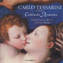 Carlo Tessarini (1690-1766): Contrasto Armonico, CD