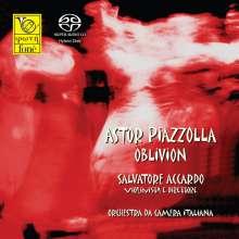 Astor Piazzolla (1921-1992): Recordando-Suite für Streicher, SACD