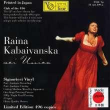 Raina Kabaivanska - Sei Unica (200g / auf 496 Exemplare limitierte Auflage), LP